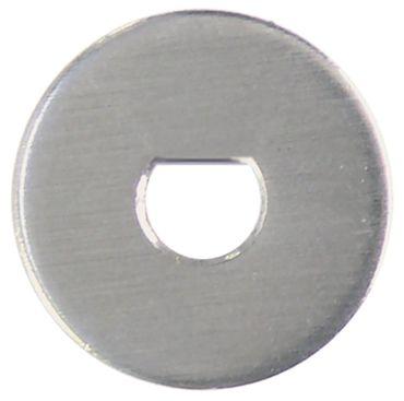 Beilagscheibe Achse ø 6x4,6mm ø 16mm Höhe 1mm VPE 10 Stück