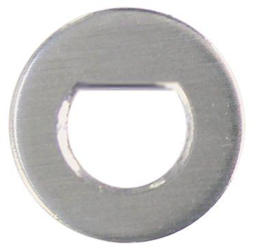 Beilagscheibe Achse 9x6,5/10x8/10x9/8x8mm ø 16mm Höhe 1mm