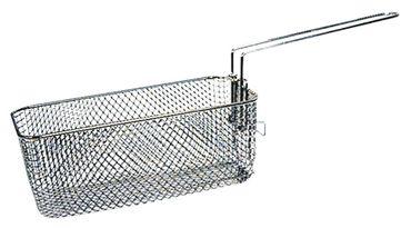 Fritteusenkorb Länge 260mm B1 130mm H1 100mm L1 260mm Stahl