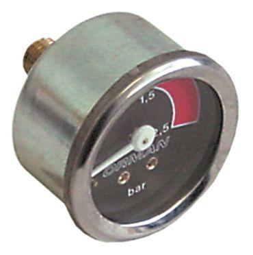 Bezzera Manometer für Kaffeemaschine BZ35 Anschluss rückseitig