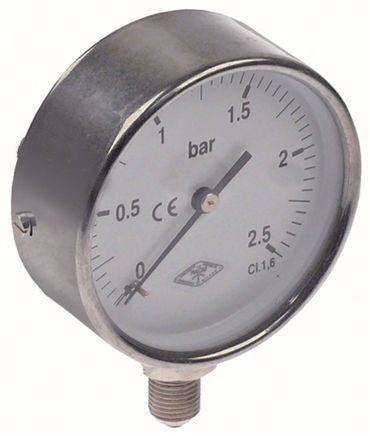 Comenda Manometer für Spülmaschine Band NE00, ACS241, AC241, SE