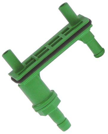 Schlauchhalter für Dosiergerät mit Rückschlagventil Kunststoff