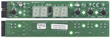 Bedienplatine für Spülmaschine Breite 30mm Länge 175mm