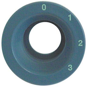 Dihr Elementträger für Spülmaschine Haube rund blaugrau
