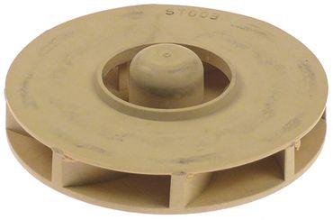 Comenda Laufrad ø 85mm Gewinde M8R Höhe 17mm Welle 13mm x 10mm