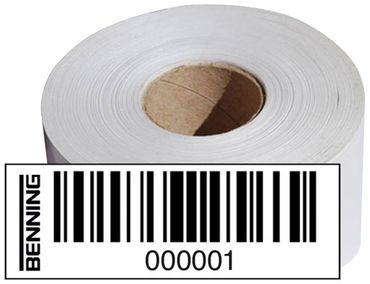 BENNING ST750-x Barcodeetiketten für Gerätetester