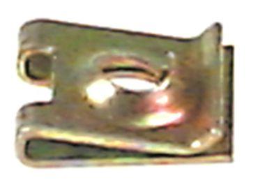 Blechmutter Länge 13mm Loch 2,2mm Breite 11mm