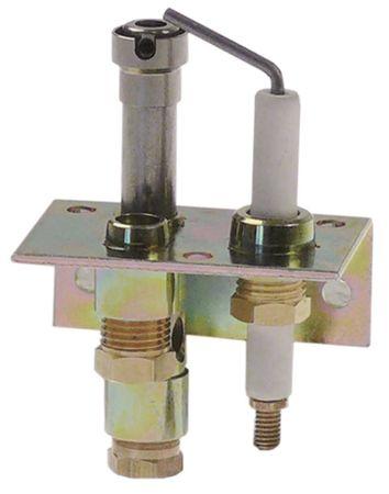 Zündbrenner JUNKERS Typ CB502021 Erdgas Düsentyp Nr.6 Gasanschluss 6mm mit Primärluft