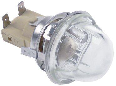 Backofenlampe E14 15W Anschluss Flachstecker 6,3mm