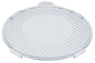 Abdeckung für Lampe ø 62mm klar Kunststoff