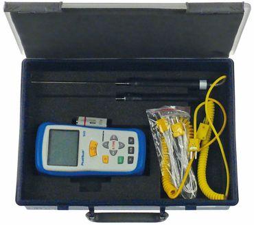 PEAK TECH 5115 Temperaturmessgeräte-Set YF-160A K °C/°F