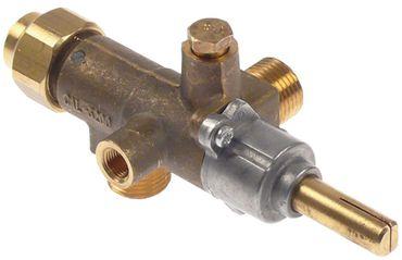COPRECI CAL-3200 Gashahn für Fagor Achsabflachung rechts 29/12mm