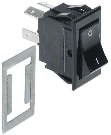 AltoShaam Wippenschalter Anschluss Flachstecker 6,3mm schwarz 2NO