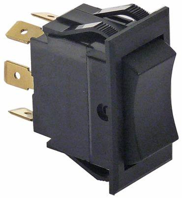 AltoShaam Wippenschalter Anschluss Flachstecker 6,3mm schwarz 2CO