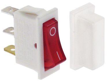 Animo Wippenschalter Anschluss Flachstecker 6,3mm mit Schutzhaube