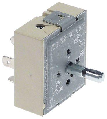 EGO Energieregler 23mm Befestigung M4 links Einkreis 6-70% 13A