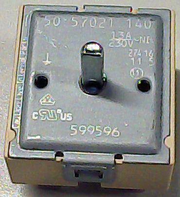EGO 50.57021.140 Energieregler 18mm Drehrichtung rechtsdrehend