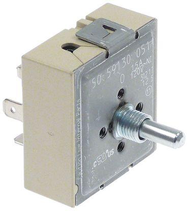 EGO 50.59130.051 Energieregler Achse 6,4x4,8x23mm Befestigung M4