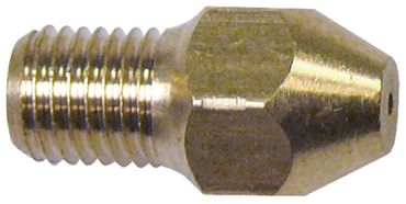 Angelo Po Gasdüse Bohrung 1mm M6x0,75 SW 8