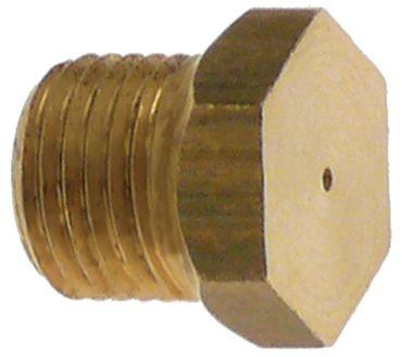 Angelo Po Gasdüse Bohrung 0,85mm M10x1 SW 12