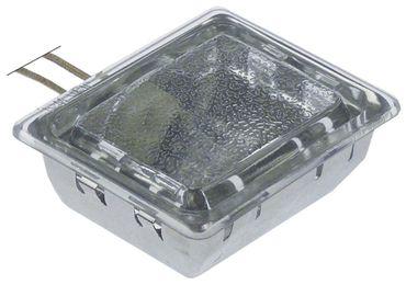 Backofenlampe Anschluss Kabel 300mm Breite 55mm G9 Länge 70mm 25W