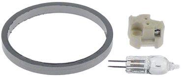 Convotherm Backofenlampe Einbau 10mm G4 10W 12V 300°C