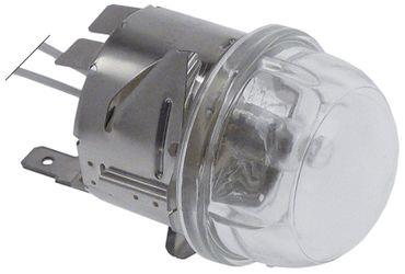 Angelo Po Backofenlampe Anschluss Kabel 450mm Hartglas G4 20W 12V