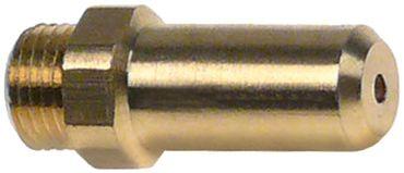 Angelo Po Gasdüse Bohrung 2,05mm M10x1 Länge 30mm SW 12