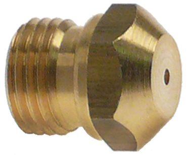 Gasdüse Bohrung 0,50mm M10x1 SW 11