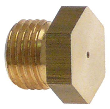 Angelo Po Gasdüse Bohrung 1,15mm M10x1 SW 12