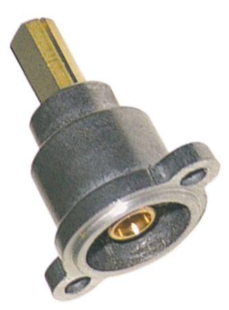 Electrolux Gashahnvorderteil Achsabflachung oben/unten 22/15mm