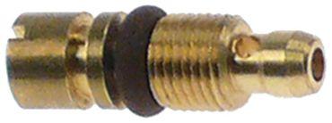 Electrolux Kleinbranddüse PEL20/21 Bohrung 0,75mm M5x0,5