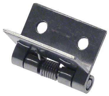 Angelo Po Scharnier Länge 25mm Loch 3mm Materialstärke 1mm