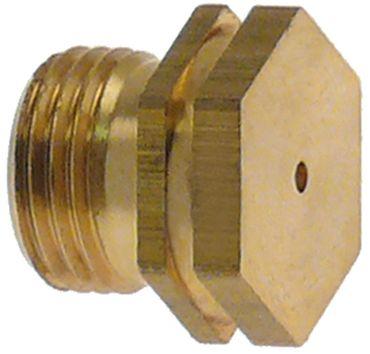 Ambach Gasdüse Bohrung 2,15mm M11x1 SW 13
