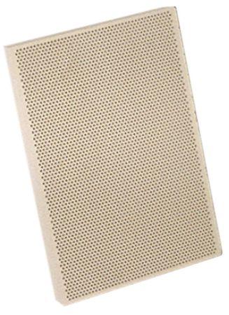 Keramikplatte mit Keramikfaserschnur Länge 134mm Breite 96mm