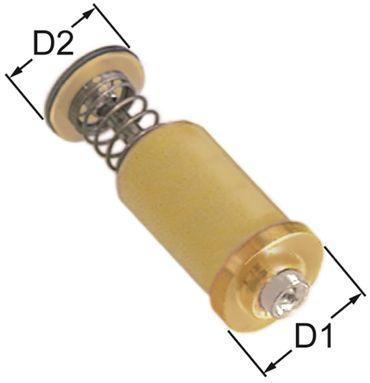 PEL Magneteinsatz für Gasthermostate PEL22/EGA24197 Länge 36mm