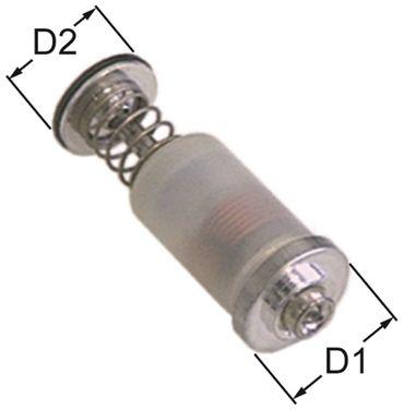PEL Magneteinsatz für Heidebrenner Länge 39mm ø 15,4mm