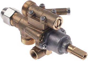 Alpeninox Gashahn PEL22S/O Thermoelementanschluss M8x1