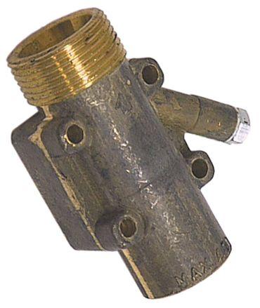 Gasanschluss für Gasherd für Gashähne M24x1,5 horizontal