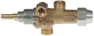 PEL 21S Gashahn mit Zündflamme Thermoelementanschluss M10x1 22/15mm