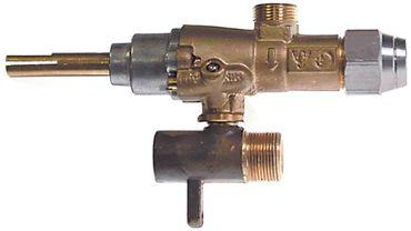 EGA-Alternativ GPEL20R Gashahn für Electrolux Gaseingang M15x1