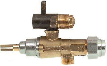 EGA-Alternativ GPEL20D Gashahn mit Düsenausgang und Düsex23/15mm