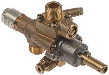 PEL 22S/V Gashahn Thermoelementanschluss M10x1 Achse 10x24,5mm