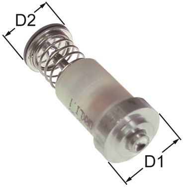 COPRECI Magneteinsatz Länge 43mm ø 19mm D2 ø 15,5mm