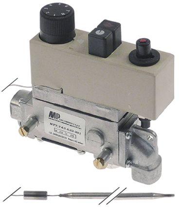 MP-Junkers Gasthermostat 7743-633-201 gewinkelt Nein Fühler 6mm