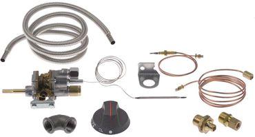 COPRECI Gasthermostat MT7200 Achsabflachung rechts Achse 7x5mm Kit