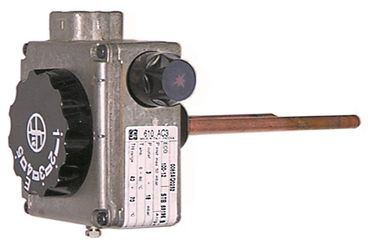 SIT Serie 610 AC3 Gasthermostat max. Temperatur 70°C 30-70°C
