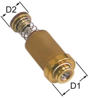 JUNKERS Magneteinsatz Länge 27mm ø 12,5mm D2 ø 8,5mm 2,1bar