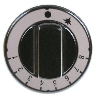 Knebel für Gasthermostat ø 70mm Symbol 1-8 für Achse ø 8x6,5mm