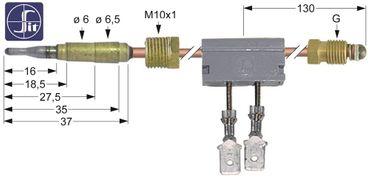 Mareno Thermoelement für Kochkessel P9IA10G, P9I10G Länge 600mm